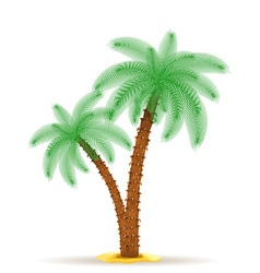 Palm tree 07 vector