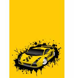 Taxi stains vector