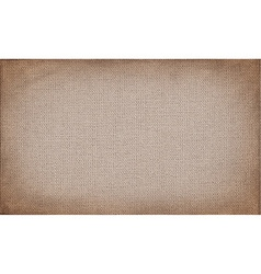 Horizontal brown canvas to use as grunge vector