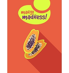 Mango madness vector