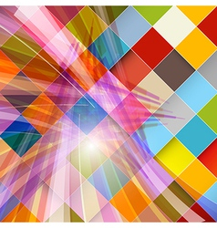 Abstract Modern Transparent Background with vector image vector image