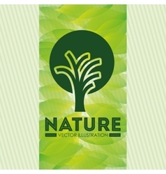 ecological product design vector image