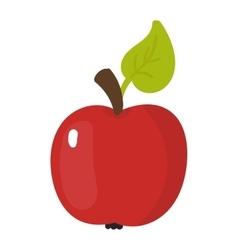 Fresh apple icon vector image
