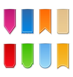 ribbons vector image