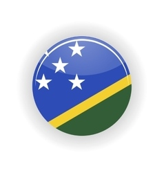 Solomon islands icon circle vector