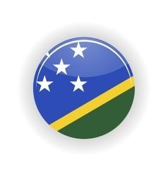 Solomon islands icon circle vector image
