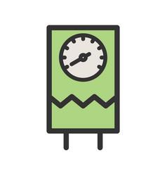 Water heater vector