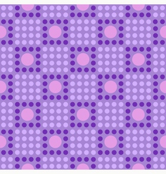 Seamless geometric pattern in the cell vector