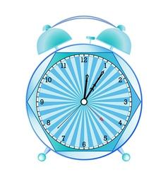 Fancy alarm clock vector