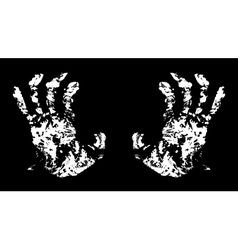 Hands terrible vector