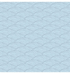 Seamless pattern with abstract waves texture vector image