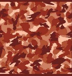 War red savanna safari camouflage seamless vector