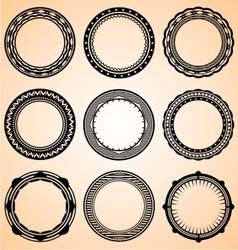 Decorative circular vector
