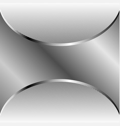 abstract silver background with copy space vector image