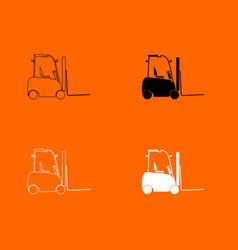 Electric loader icon vector