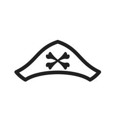 Pirate hat ii vector