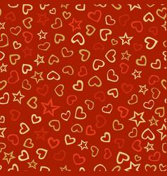 Seamless love pattern vector