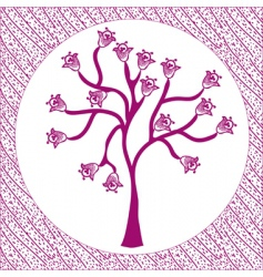 Tree-tarilka vector