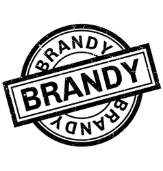 Brandy rubber stamp vector