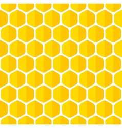 Beautiful honeycomb seamless background vector image vector image