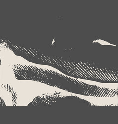 distress overlay background grunge fiber texture vector image vector image