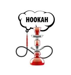 Logo hookah vector