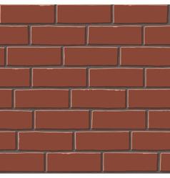 Red bricks tex vector