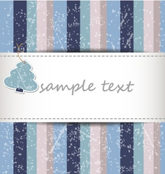 Striped christmas background vector