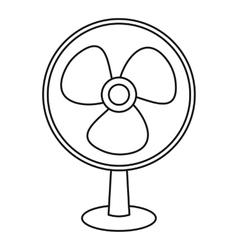 Ventilator icon outline style vector image vector image