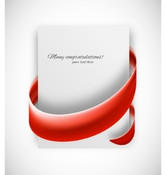 Business card vector