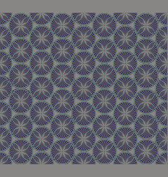 Abstract geometric pattern abstract floral vector