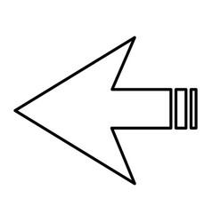 arrows symbol vector image vector image