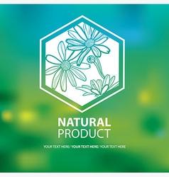 Floral logo 0005 vector