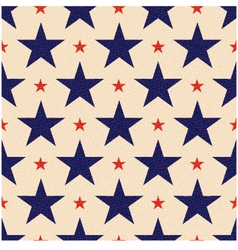 Seamless usa stars background vector