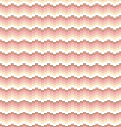 Striped chevron pattern vector image vector image