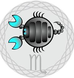 Zodiac signs scorpio vector