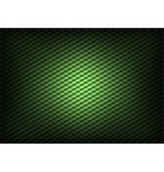 hexagon background green vector image