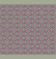 Abstract fabric ornament geometric line seamless vector