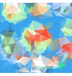 Triangle background pattern of geometric shapes vector