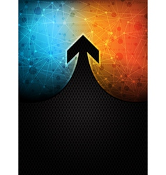 arrow banner vector image vector image