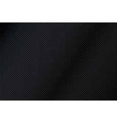 Black Mesh Grid Background vector image vector image