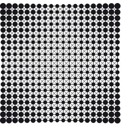 dots connection halftone abstract background vector image vector image