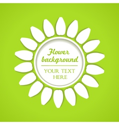 White flower as background vector