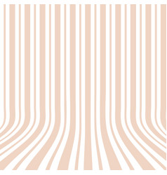 Vertical striped background 3d effect vector