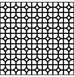 Seamless background monochrome tile vector