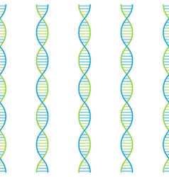 Dna seamless background vector