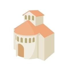 Church building icon cartoon style vector image vector image
