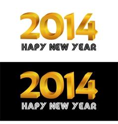 Happy new year document vector image