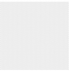 polka dot gray pattern texture on white background vector image vector image