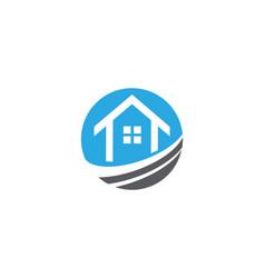 Property and construction logo design vector
